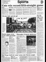 This Week in BC Sports History - June 11, 1995