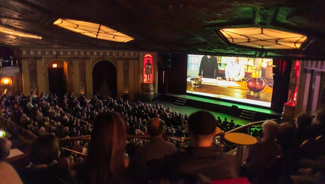 Opening night of the 2015 Freep Film Festival at the Fillmore Detroit.