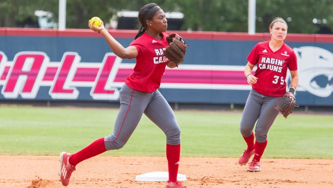 UL stormed past Georgia State on Thursday to advance to the winner's bracket final at 11 a.m. Thursday at the Sun Belt Softball Tournament Championship in Mobile, Alabama.