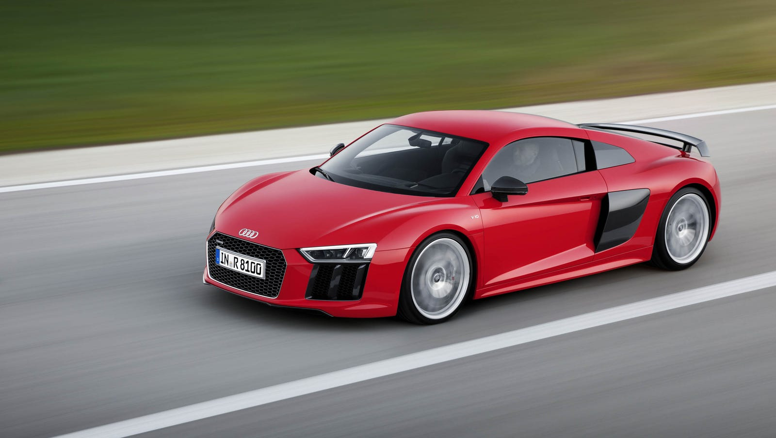 Review Audi S New Supercar Can Really Fly At 205 M P H