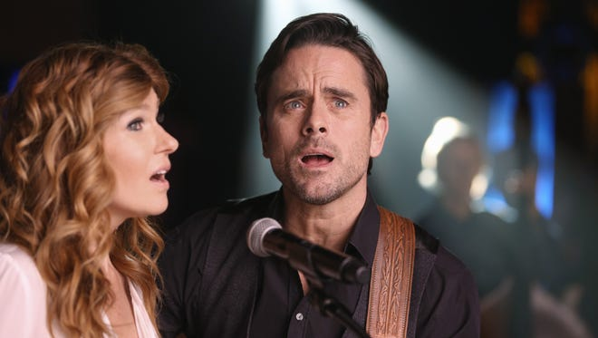 Connie Britton, left, and Charles Esten star in 'Nashville,' which moves to CMT for the upcoming Season 5.