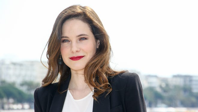 Caroline Dhavernas poses for a portrait on April 4, 2017 in Cannes, France during the Cannes Film Festival.