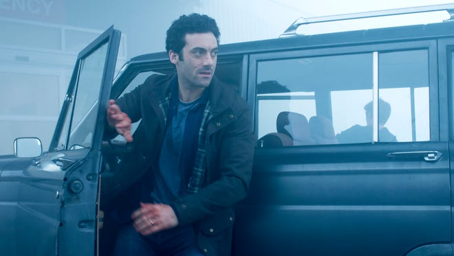 "In ""The Mist,"" Kevin (Morgan Spector) becomes separated from his wife and daughter once the strange fog hits town."