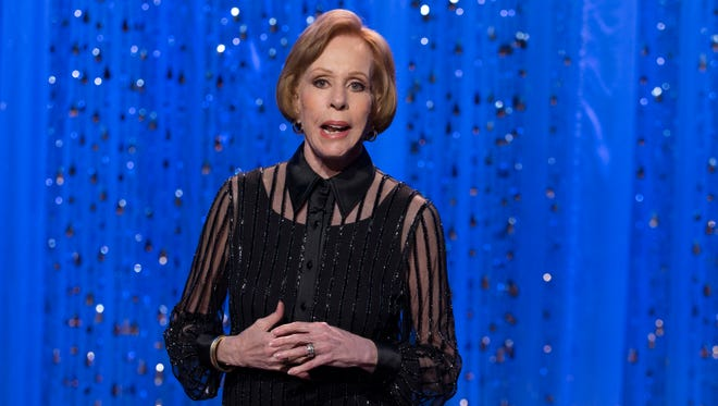 Carol Burnett celebrates the 50th anniversary of her iconic variety show with a two-hour special Sunday on CBS.