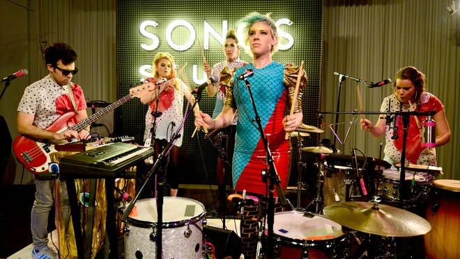 Tune-Yards at Sonos Studio in Los Angeles