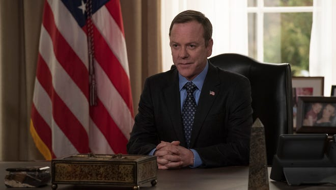 ABC's 'Designated Survivor,' which stars Kiefer Sutherland as a reluctant president, is among early leaders in USA TODAY's 2018 Save Our Shows poll. There's still time to make your vote counted.