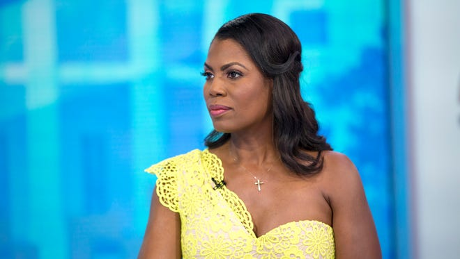 """Omarosa Manigault-Newman appeared on """"Today"""" on Monday, Aug. 13, 2018."""