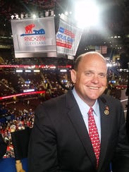 U.S. Rep. Tom Reed, R-Corning, is in Cleveland this