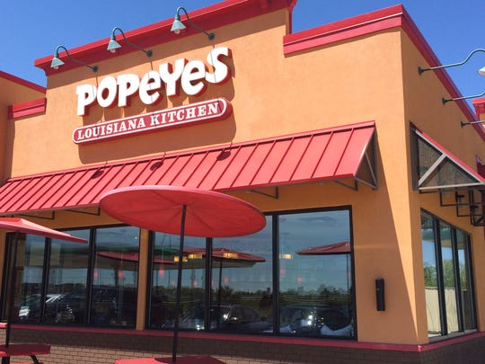 Popeyes Louisiana Kitchen has not yet started construction in Appleton. A Popeyes location in Indiana is shown here.