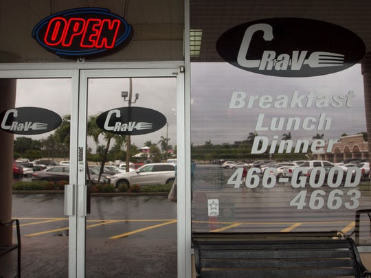 Crave is one of several successful restaurants in the Bridge Plaza in Fort Myers.