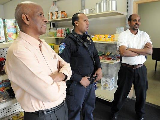 Saleh Ahmed, Burhan Ahmed, Mohamed Mohamed