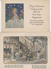 Boys' and Girls' Newspaper Christmas Cards