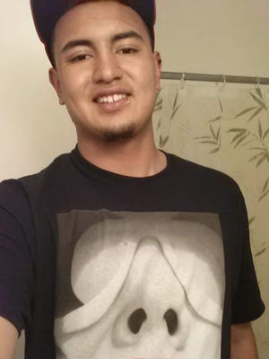 A photo submitted by a family member of Jesus Castillo, 21, who died at a local hospital after he was hit on the face in a fight that broke out at a Lil Jon concert at LEX Nightclub early Sunday.