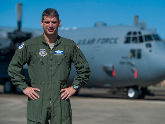 Col. Ken Ostrat is the new commander of the 908th Airlift Wing at Maxwell Air Force Base in Montgomery, Ala. on Wednesday March 8, 2017.