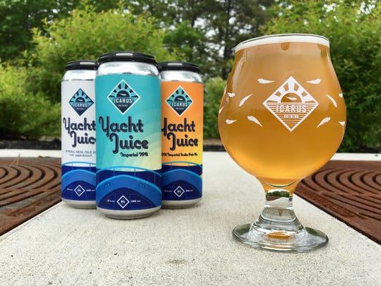 Yacht Juice has quickly become one of the most popular beers from Icarus Brewing in Lakewood.