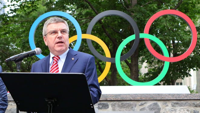 "Despite several issues casting a cloud of doubt over the Rio Olympics, International Olympic Committee president Thomas Bach said, ""We're very confident that the athletes and the spectators will enjoy safe conditions in Rio de Janeiro."""