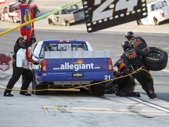 A strong, cohesive team has been key to Johnny Sauter winning two of the five Camping World Truck Series races this season and nine since joining GMS Racing in 2016, he said.