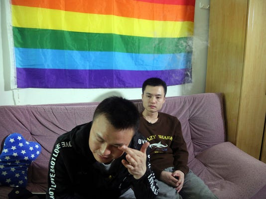 AP CHINA SAME SEX MARRIAGE I CHN