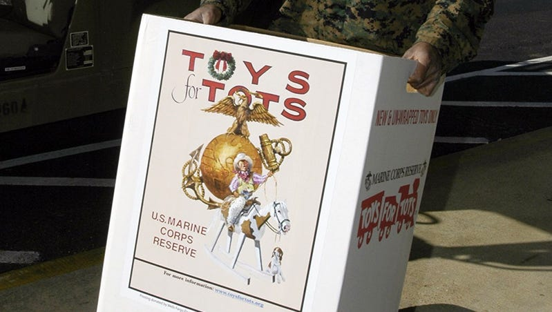 Offical Logo For Toys For Tots : Local marines compete in dodgeball tournament for toys for tots