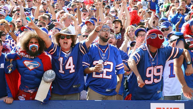 Fans had plenty to cheer about as the Bills scored on their first possession, but lost to the Patriots 40-32.