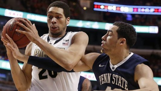 Purdue center A.J. Hammons