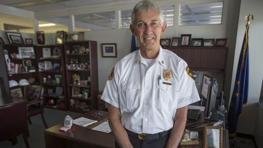 Former Indianapolis Fire Department Chief Brian Sanford died Monday, March 21, 2016, after a long battle with Lou Gehrig's disease.