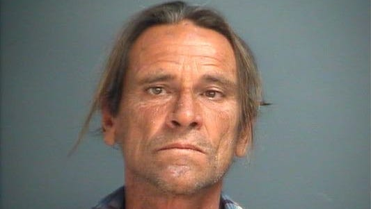 Johnny Johnson Jr. following his arrest in 2o14