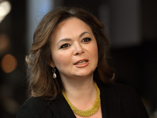 A picture taken on November 8, 2016, shows Russian lawyer Natalia Veselnitskaya speaking during an interview in Moscow.