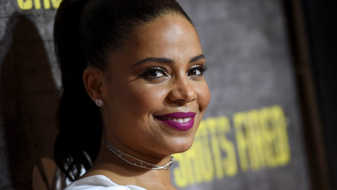 """Actress Sanaa Lathan arrives at a screening and Q&A for FOX TV's """"Shots Fired"""" at the Pacific Design Center on March 16, 2017 in West Hollywood, California."""