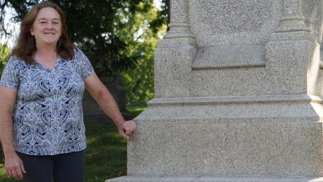 Redford Historical Commission's Regina Gilbert is helping put together their first cemetery walk on Oct. 8.