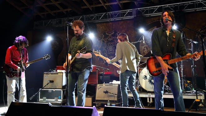The Drive-By Truckers perform at the Magnolia Fest in Florida last year.