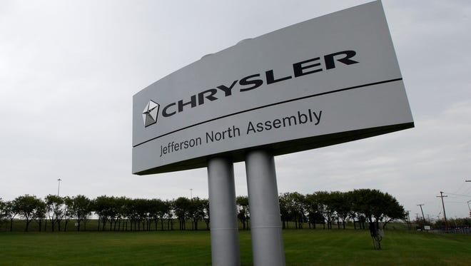 The Chrysler Jefferson North assembly plant is shown in Detroit, Thursday, Sept. 20, 2012.