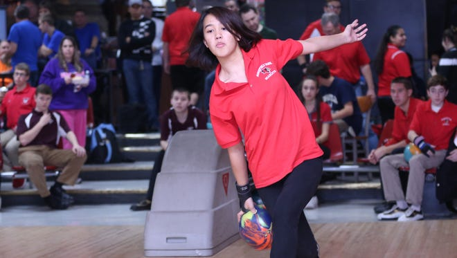 Danielle Quitola and the Ridgefield Park girls bowling team take aim at defending their Big North American Division title this winter.