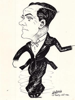 A caricature of Billy Reardon.
