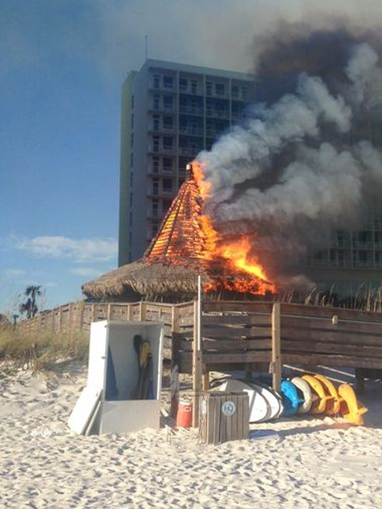 Discarded Cigarette May Be To Blame For Beach Bar Fire