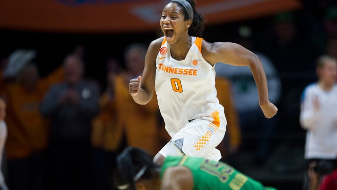 Tennessee's Jordan Reynolds was taken Thursday night in the second round of the WNBA Draft by Atlanta.