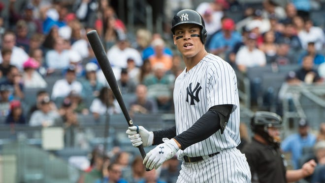 Aaron Judge leads the majors with 204 strikeouts.