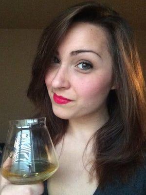 Rachael Andersen, beer blogger.