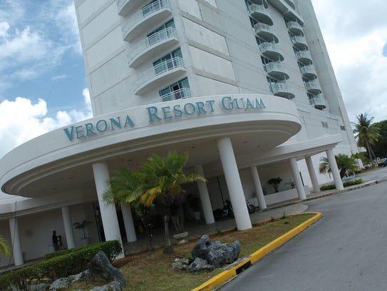 The Verona Resort & Spa in Tumon.