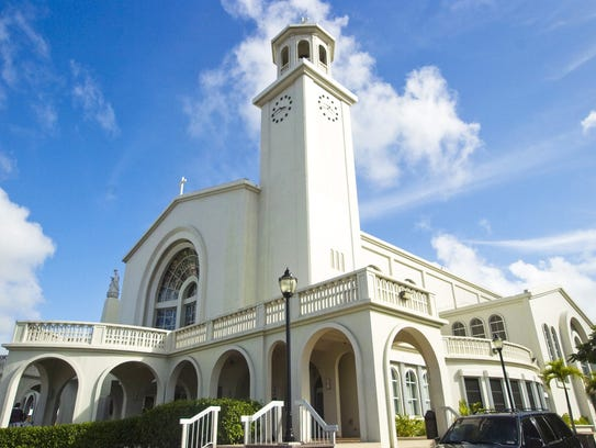 GUAM PRIEST SCANDAL  The Dulce Nombre de Maria Cathedral-Basilica
