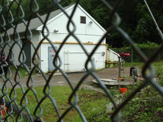 A sewage treatment plant in West Milford is one of