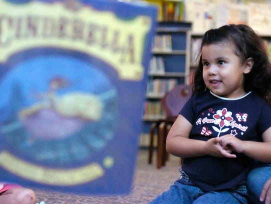 Several area libraries offer free story times for babies,