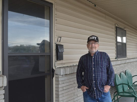 Navy veteran Jamie Fay lives in one of the Sumner County
