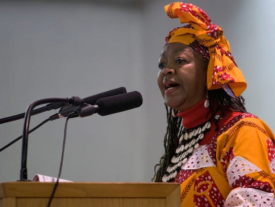 Lateefah Muhammad gives the occasion during the Emancipation