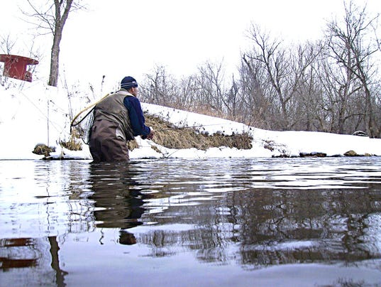 Early season cold weather trout fishing tips for Fishing in cold weather