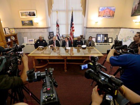 November 12, 2016: City Hall, Ray Tensing, Sam DuBose, Mistrial, Judge Megan Shanahan, City of Cincinnati, Sam Greene