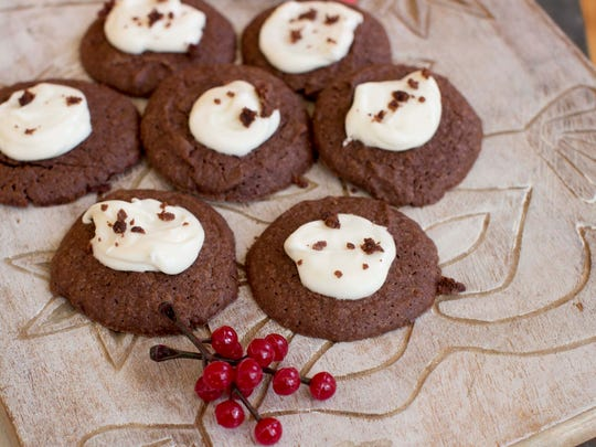Frosted Chocolate Drops