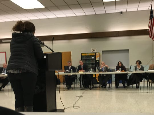 Members of the community asked the Board of Education questions about the inclusion preschool program at the Dec. 13 meeting.