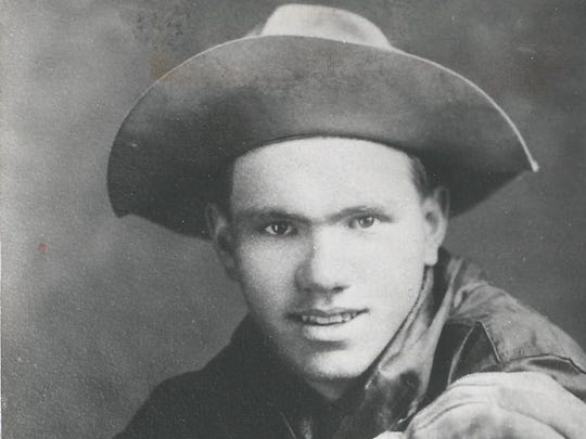 """Maxwell """"Freckles"""" Atkinson was a member of the Buffalo Bill Wild West Show until he met a girl from Mount Calvary."""
