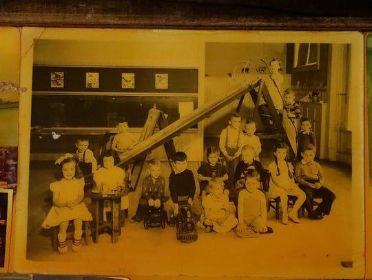 Joe Hoeller's kindergarten photo is attached to the